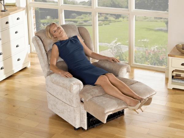 How does a riser recliner chair work?
