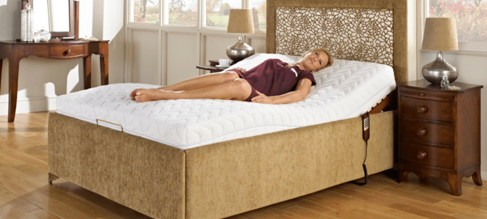 How can adjustable bed prevent snoring