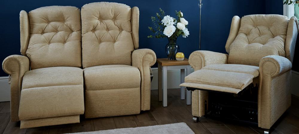 electric riser recliner sofa