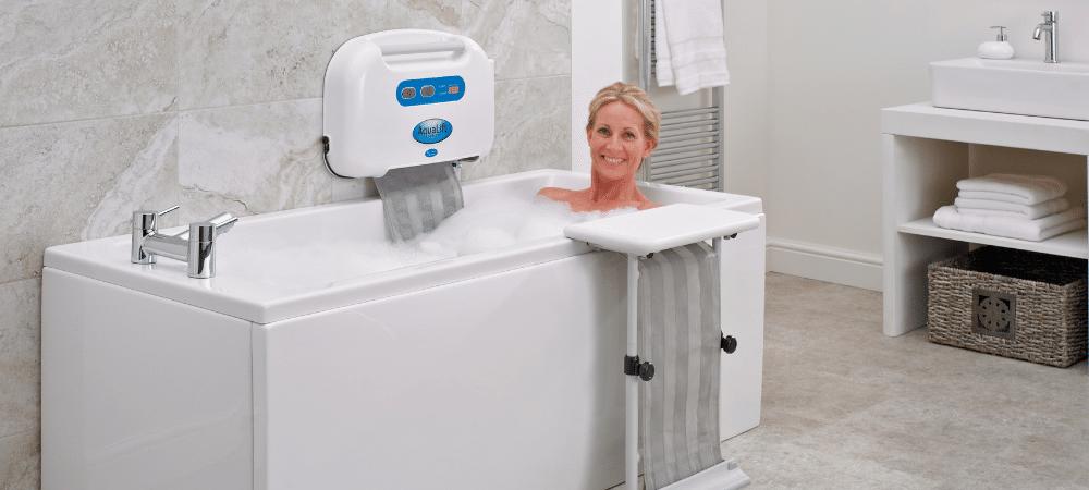 bath using aqualift