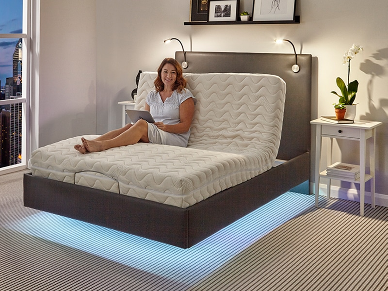 Chicago adjustable bed