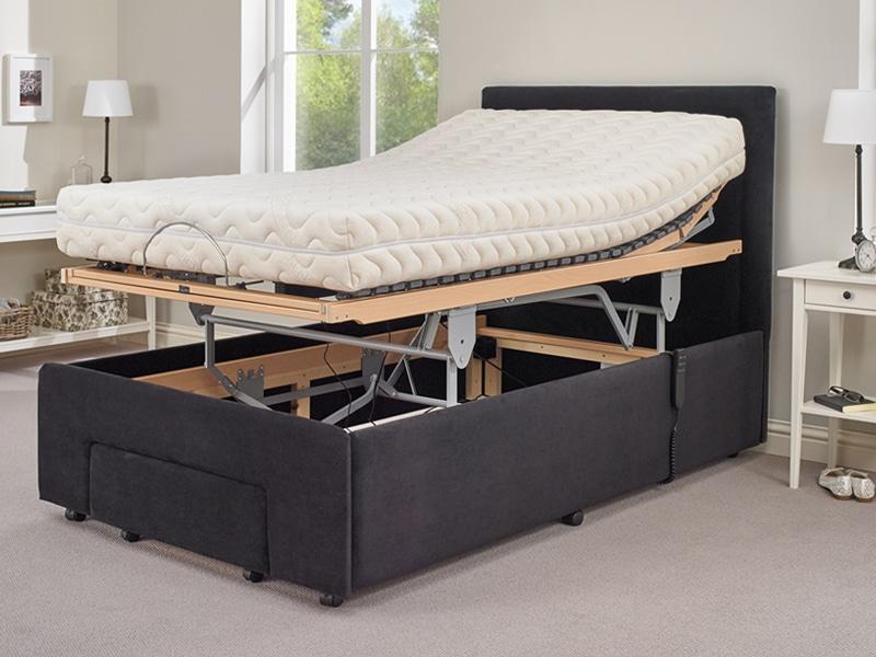 hi-lo medical adjustable bed