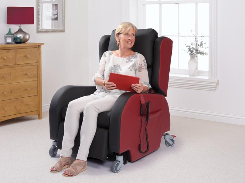 the porta riser recliner chair