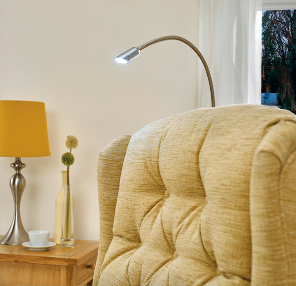 reading light for recliner chair