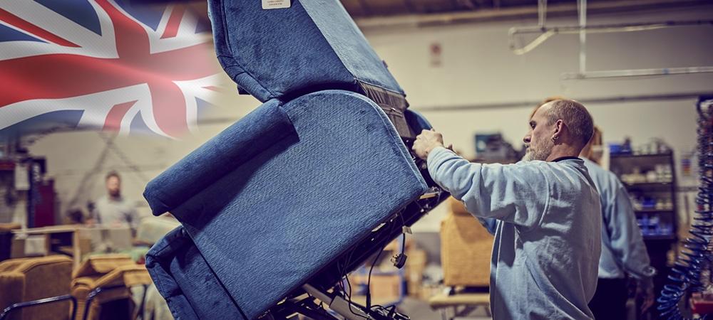 British Manufactured Recliner Chair